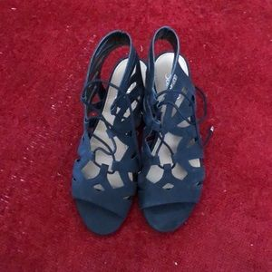 Franco Sarto Tie Sandals